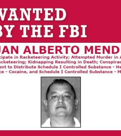 Busca FBI a fugitivo con lazos en Quintana Roo