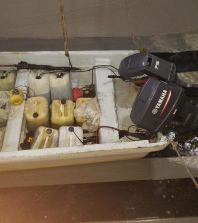 VIDEO |  Armada de México intercepta cargamento con más de 700 kilos de cocaína en Chiapas