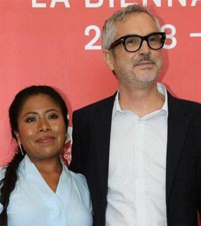 Entregará Senado reconocimientos a Yalitza Aparicio y a Alfonso Cuarón