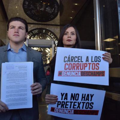 Denuncian senadores de Movimiento Ciudadano a Romero Deschamps por 11 delitos, incluido huachicoleo