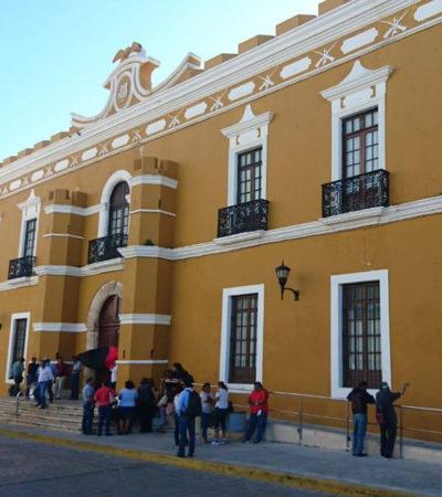 Desestima alcalde de Campeche huelga de sindicalizados que obedecen a líder 'suspendido' laboralmente