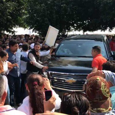 Refuerzan seguridad de AMLO durante gira por Tabasco