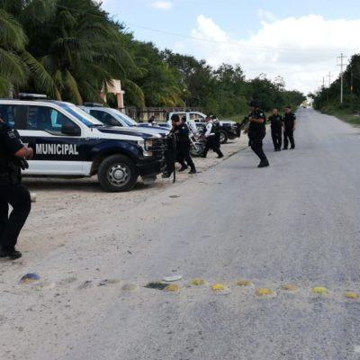 Trasladan en operativo a detenidos por ejecución en Oxxo de Misión de las Flores