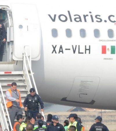 Activa Volaris protocolo de seguridad por falsa alarma de bomba en ruta CDMX-Mérida