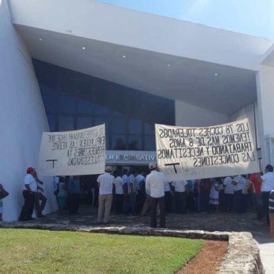 Desconocen taxistas a Jorge Pérez como interlocutor y anticipan la posibilidad de iniciar huelga de hambre y bloqueo de carreteras