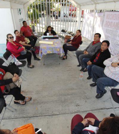 SE EXTIENDE PROTESTA EN EL CONALEP: Estalla paro de labores en planteles de Cancún, Playa del Carmen y Chetumal