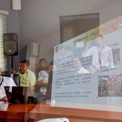 Presentan Censo Económico 2019 del INEGI en Tulum