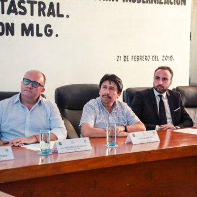 Se modernizará el Archivo Catastral de Tulum, anuncia Víctor Mas