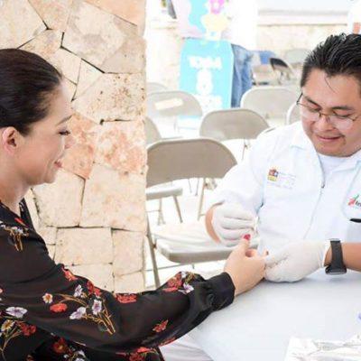 Atiende Dirección de Salud a casi 38 mil personas en los últimos cuatro meses en Tulum