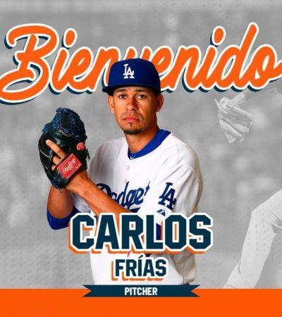 Carlos Frías, ex Grandes Ligas llega a Tigres
