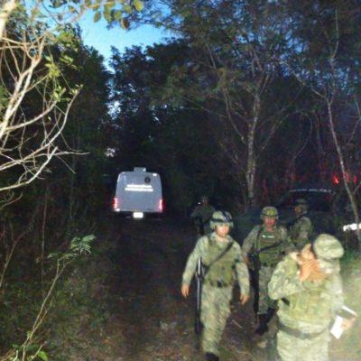 Hallan cuerpo calcinado por la colonia Tres Reyes en Cancún