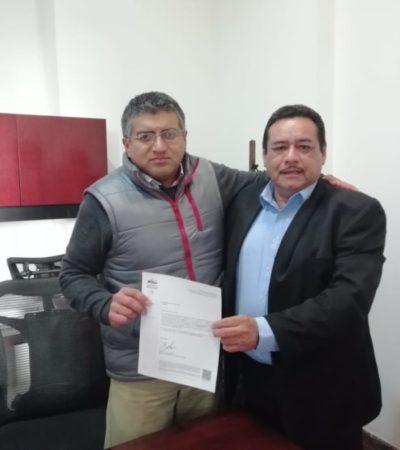 Habitantes del Ejido Santa Elena piden a AMLO que centro de mantenimiento del Tren Maya se instale en la comunidad