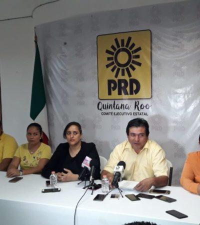 Iris Mora, Julián Ricalde y Haydé Saldaña encabezan lista de plurinominales en el PRD