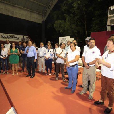 Acude Alcaldesa a jornada de diálogo con vecinos de Villas del Sol