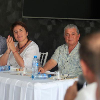 VEN CONFIANZA DE INVERSIONISTAS EN PLAYA: Se reúne Alcaldesa con desarrolladores inmobiliarios en la Riviera Maya
