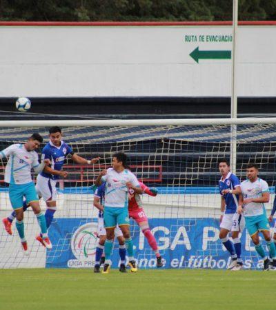 SUMA INTER PLAYA DEL CARMEN VALIOSO PUNTO: Empata 1-1 con Cruz Azul Hidalgo en la fecha 20 de la Serie A de la Liga Premier