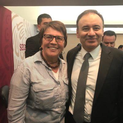 CONFERENCIA NACIONAL DE SEGURIDAD: Ratifica Laura Beristain que Solidaridad trabajará con el modelo nacional de la policía