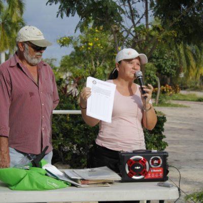 """""""QUE NO VENGA… PORQUE LA VAMOS A CORRER"""": Tras romperse acuerdo para reabrir Malecón Tajamar, activista advierte a Mara Lezama que no se presente en la zona"""