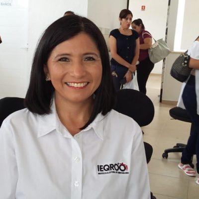 PONE EL IEQROO LA 'VARA MUY ALTA': Espera Mayra San Román participación electoral en 2019 similar a la de las dos elecciones pasadas… por encima del 50%