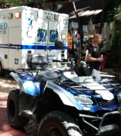 PRELIMINAR | Hallan el cuerpo putrefacto de una mujer extranjera en una de las habitaciones de Condominios Sac Be, en la Quinta Avenida de Playa del Carmen