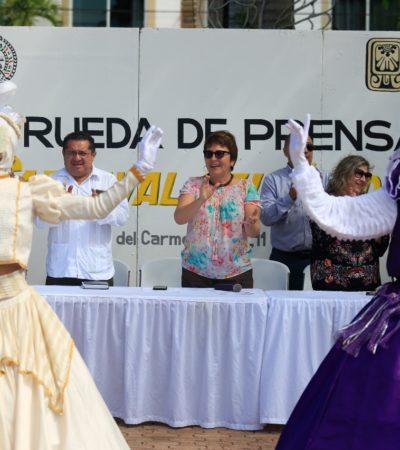 Apuesta Playa del Carmen a trascender fronteras con un carnaval multicultural de México y el Mundo