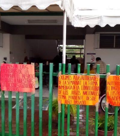 Se suman trabajadores de Semarnat al paro nacional en protesta por incumplimiento de demandas laborales