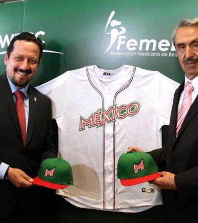 NUEVO UNIFORME DE LA SELECCIÓN MEXICANA DE BEISBOL: Será utilizado por todas las selecciones nacionales de cualquier categoría en 2019