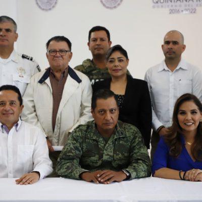 ¡SONRÍAN…, PARA LA FOTO!: Se reúnen autoridades para planear 'reforzamiento' de la estrategia de seguridad