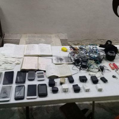 Hallan drogas, celulares y armas blancas en operativo en la cárcel de Playa