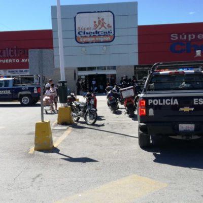 Tras una persecución desde Tulum, policía federal detiene en Puerto Aventuras, con un balazo, a presunto asaltante