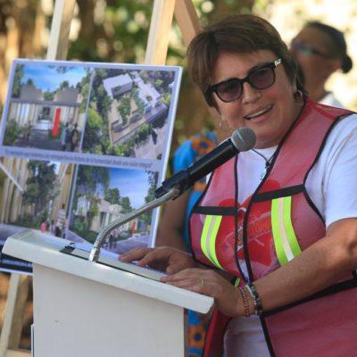 La campaña contra las drogas que impulsa AMLO reforzará las acciones en Solidaridad, asegura Laura Beristain; hay planes para construir clínica de internamiento, dice