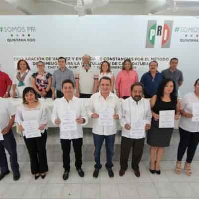 CONCLUYE PRI PROCESO INTERNO: Elige a candidatos a diputados por principio de mayoría relativa
