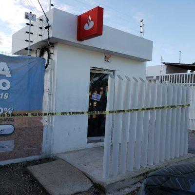 ROBAN CAJERO AUTOMÁTICO: Atraco en la madrugada en edificio del sindicato de trabajadores del Ayuntamiento de BJ en la SM 200 de Cancún
