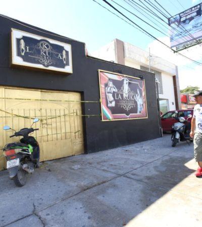 SEGUIMIENTO | 'LA KUKA', SIN VELADORAS NI FLORES: Un día después del ataque de sicarios que segó 5 vidas, mantienen bajo vigilancia antro en Cancún