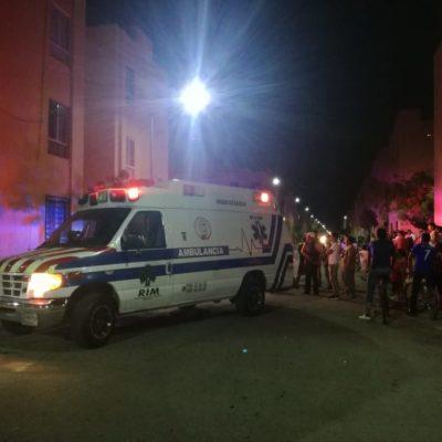 OTRA NOCHE DE VIOLENCIA EN CANCÚN: Ejecutan a balazos a un hombre en la SM 251 y balean a otro en la Región 248