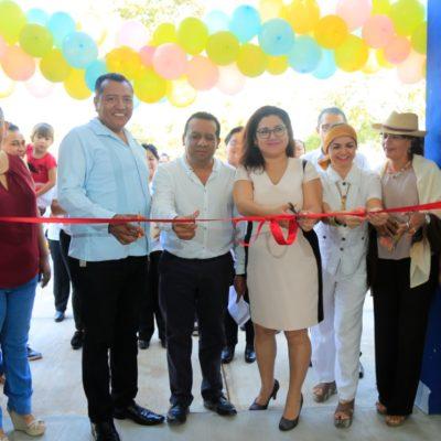 Inaugura Ayuntamiento de Solidaridad estancia infantil municipal en El Petén