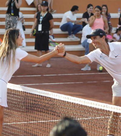 INAUGURAN 'TENNIS CENTRE' DE RAFA NADAL EN COSTA MUJERES: Con inversión de 6 mdd, el tenista apertura en el Caribe mexicano su primer centro de entrenamiento fuera de España