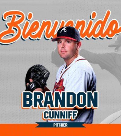 Brandon Cunniff llega a Tigres con experiencia de Grandes Ligas
