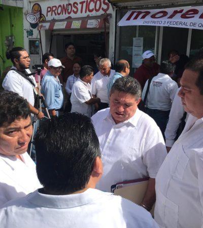 Oficial: 196 registrados ante el CNE de Morena para candidaturas a diputaciones en QR