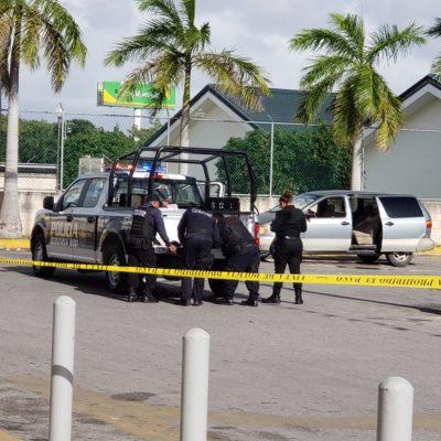 SEGUNDO ATAQUE EN EL ESTACIONAMIENTO DE UN SORIANA: Intento de ejecución en la Región 209 deja en estado grave a un hombre