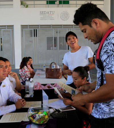 Ofertan 800 vacantes en feria municipal del empleo en Playa del Carmen