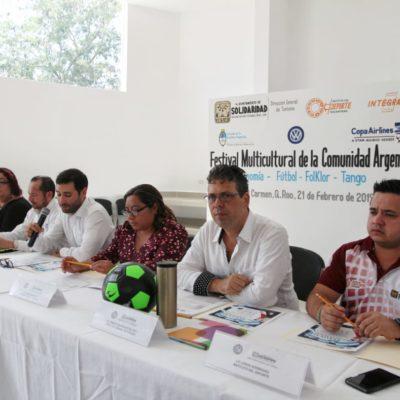 Invitan a participar en el Festival Argentino de Playa del Carmen