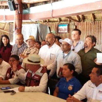 REBELIÓN EN LA GRANJA: Morenistas unen filas contra precandidatos 'oportunistas' en QR