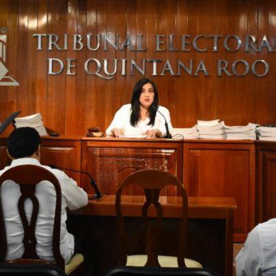 Ordenan magistrados del Teqroo al Ieqroo reabrir investigación en contra de la Alcaldesa Laura Beristain por espectaculares con López Obrador