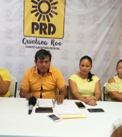 Anuncia PRD que Greg Sánchez regresa al partido como candidato externo