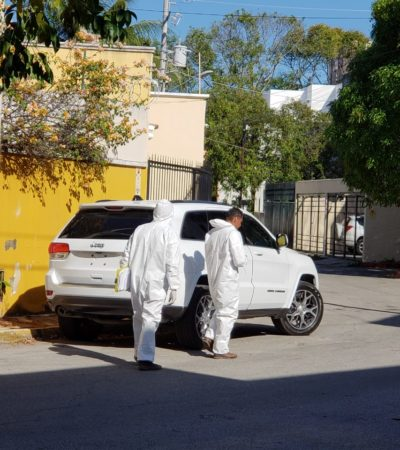 ACTUALIZACIÓN   EJECUTADO EN LA SM 15, EX FUNCIONARIO ESTATAL: Hombre baleado en un Jeep fue delegado del Infovir en BJ en 2004; no descartan conflicto por tierras
