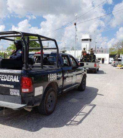 Trasladan a la cárcel a presuntos sicarios vinculados con al ataque de tres muertos en la Región 100 de Cancún