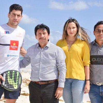 ANUNCIAN CONSTRUCCIÓN DE CANCHA DE PÁDEL: Visita Tulum Maxi Sánchez, primero en el ranking del World Tour Pádel