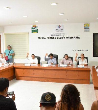 Regidores aprueban Plan de Desarrollo Municipal 2018-2021 de Tulum