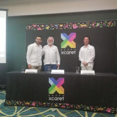 Renueva Grupo Xcaret su imagen y detalla planes de expansión